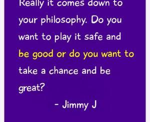 Jimmy J Success Quotes