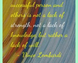 Vince Lombardi Success Quotes