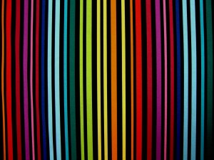 Rainbow Futon Cover