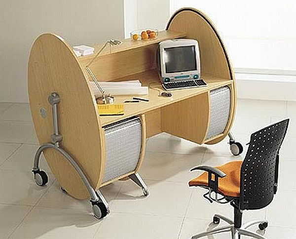 Roller Schreibtische Interesting And Innovative Office Furniture Design | Home