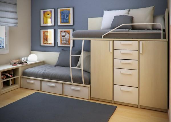 space-saving ideas small bedroom space saving