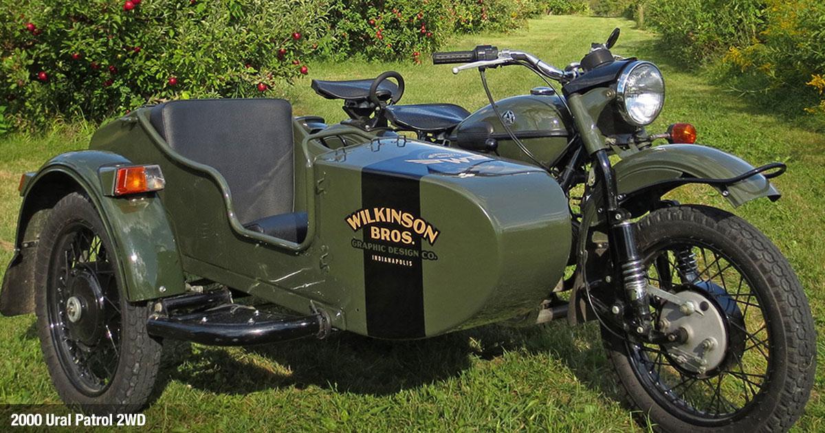 Ural Patrol Sidecar Motorcycle