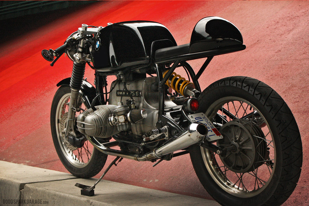 Wilkinson Bros BMW Cafe Racer