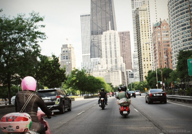 Mods vs Rockers Chicago 2012