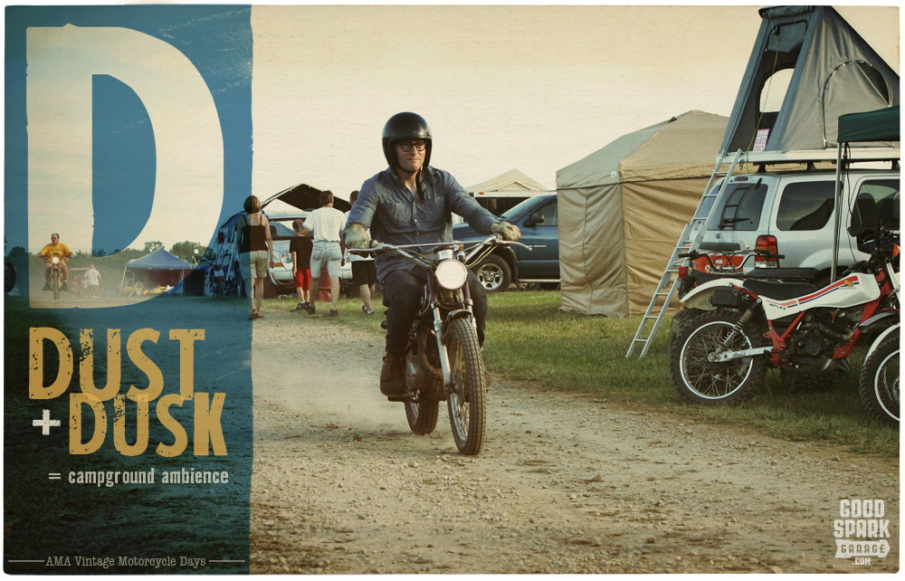 AMA Vintage Motorcycle Days Campground