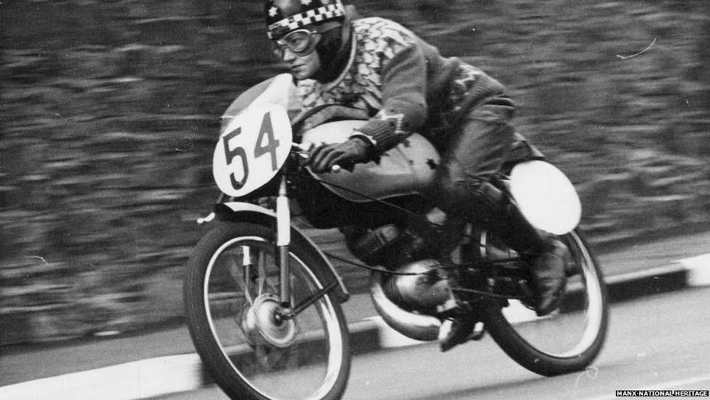 Beryl Swain Motorcycle Racing Sweater