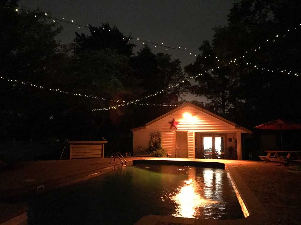 Solar Lights Outdoor Solar Powered Outdoor String Lights Goodstuffathome