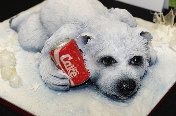 3d Wallpaper Maker We Can T Believe It S Cake Polar Bear Cake Goodtoknow