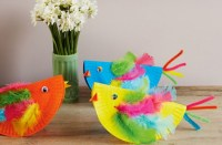 How to make paper plate chicks - goodtoknow