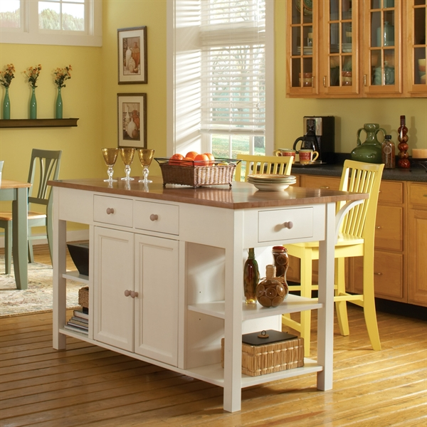 Kitchen Island Height Standard: Deluxe Kitchen Island
