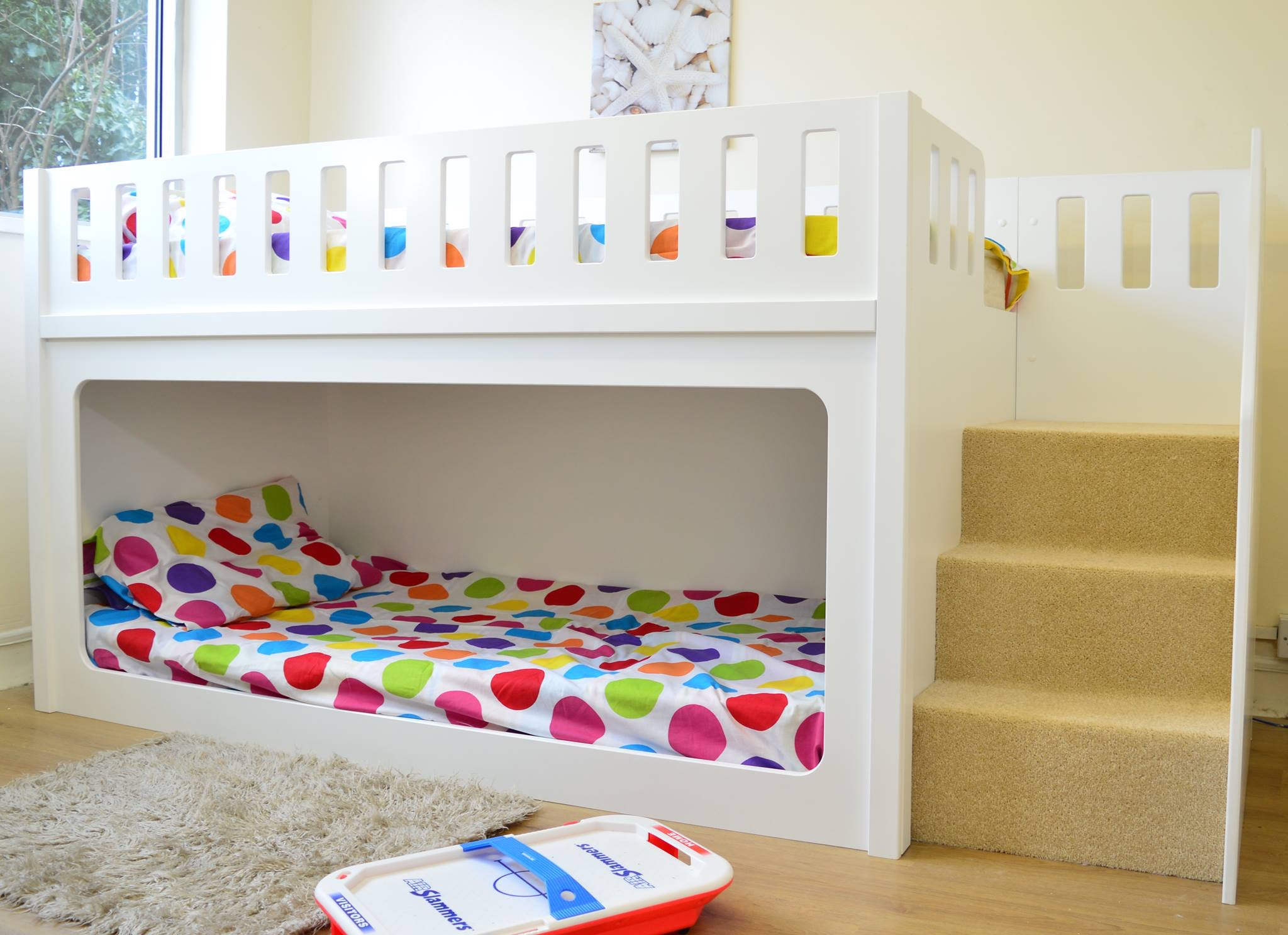 Double Loft Bed For Kids Childrens Bunk Beds Goodworksfurniture