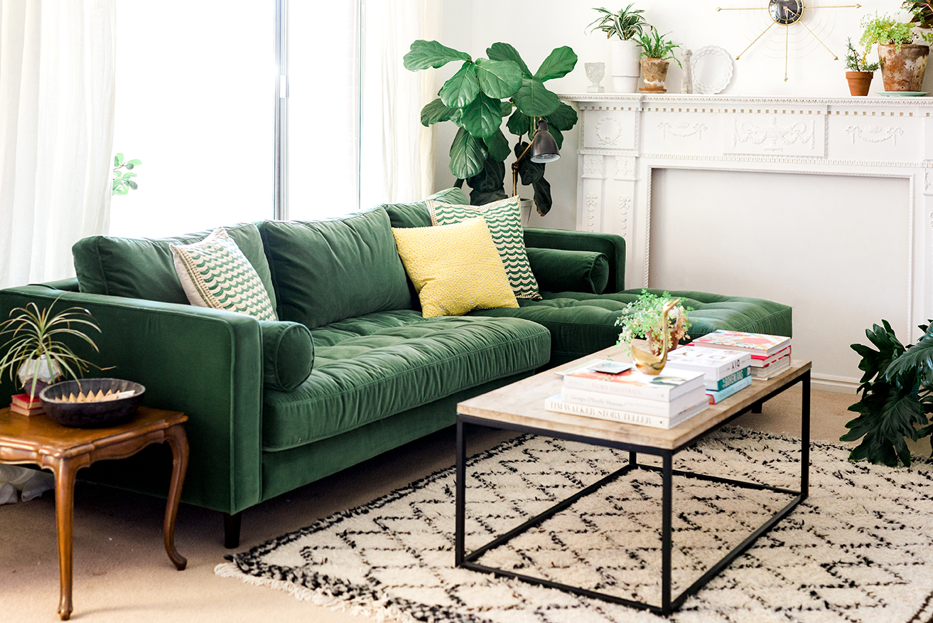 Green Settee Should You Go For A Green Sofa Goodworksfurniture