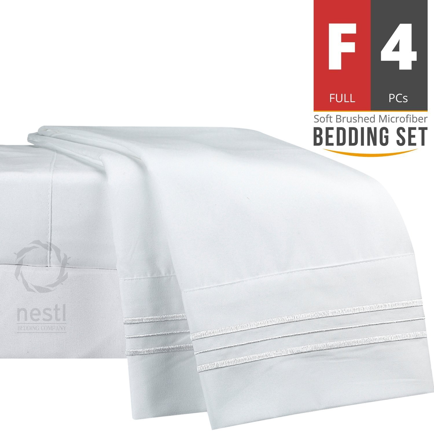 Full Double Bed Full Double Bed Sheet Bedding Set 100 Soft Brushed Microfiber Brand New