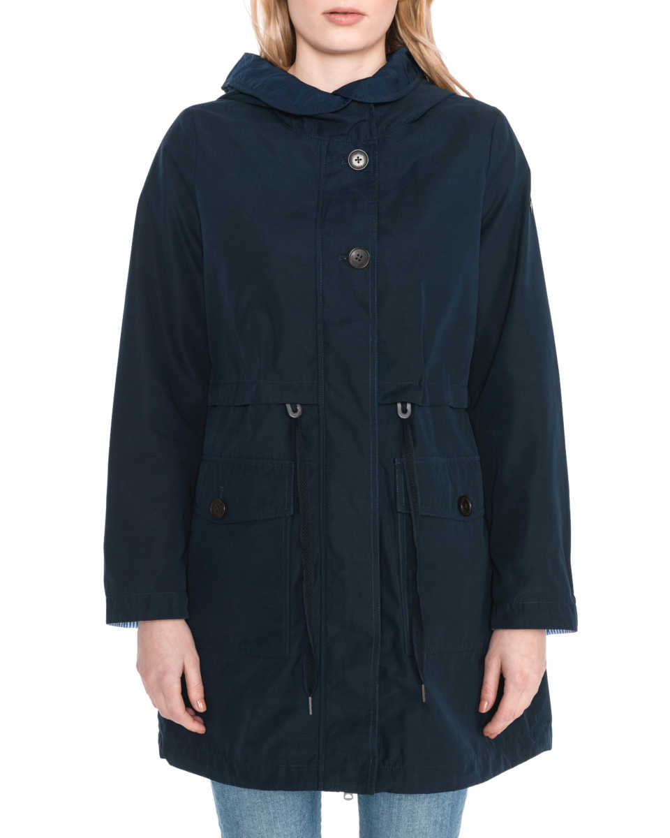 Tom Railor Tom Tailor Parka Blue Bibloo Goofash Shop