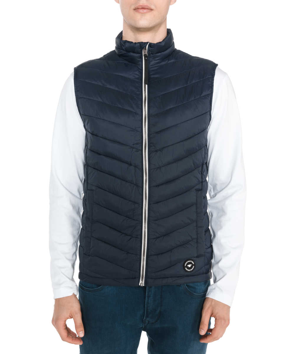 Tom Railor Tom Tailor Vest Blue Bibloo Goofash Shop