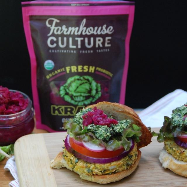 Vegan Garden Burgers Goofy Foot Foods