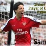 Gooner Talk's Player of the Month: Samir Nasri (August 08)