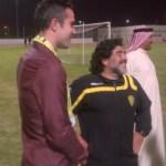 van Persie spends time off in Dubai – meeting Maradona!