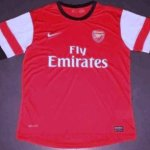PICTURE: Arsenal reveal new shirt before Norwich match