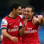 Arteta & Cazorla 'best passers' in the Premier League