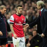 Wilshere ruled out of Dortmund clash