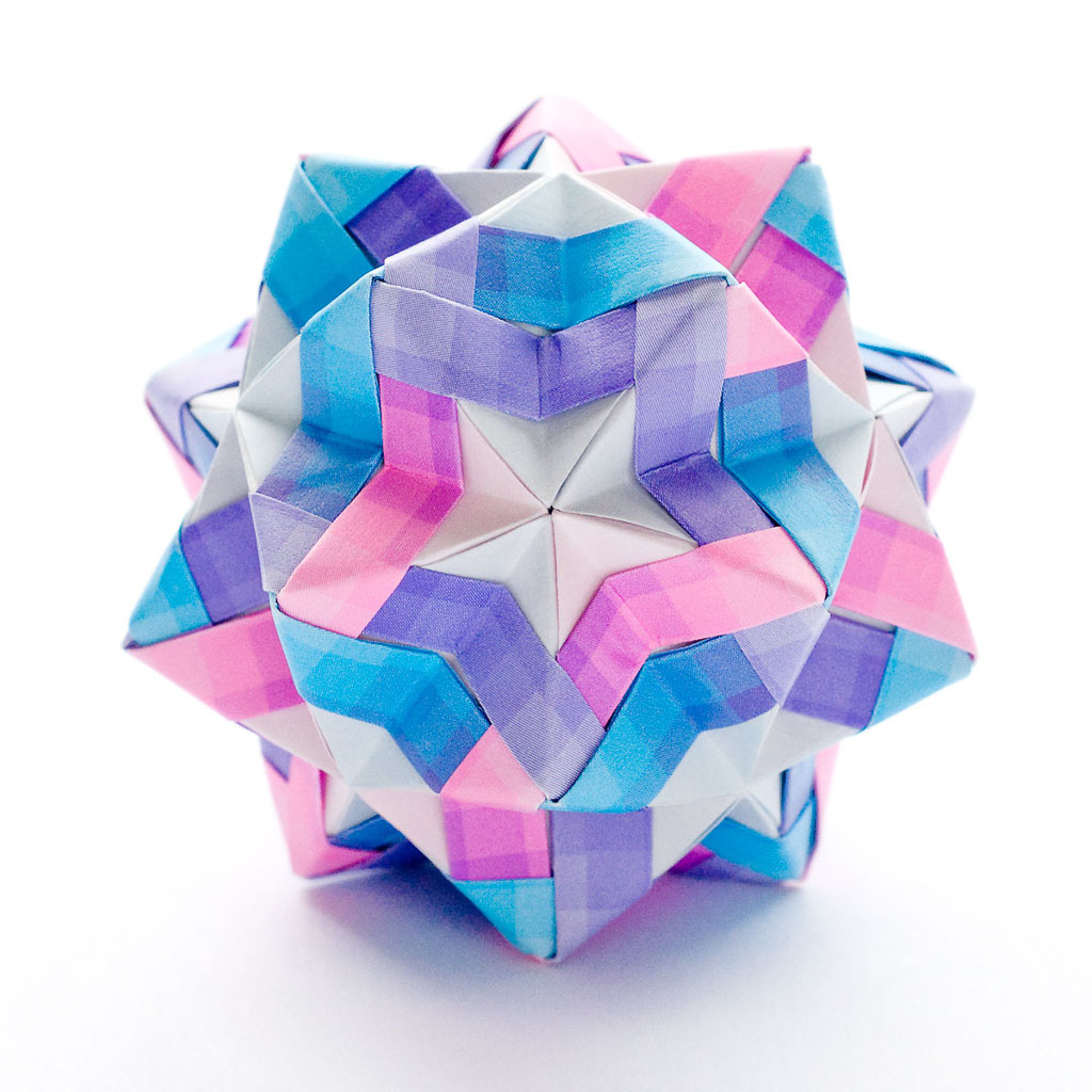 star sonobe by maria sinayskaya go origami