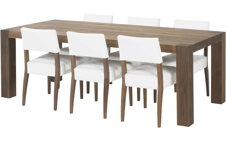 Eetkamerstoelen wit leer eetkamerstoel neo wit leer kopen