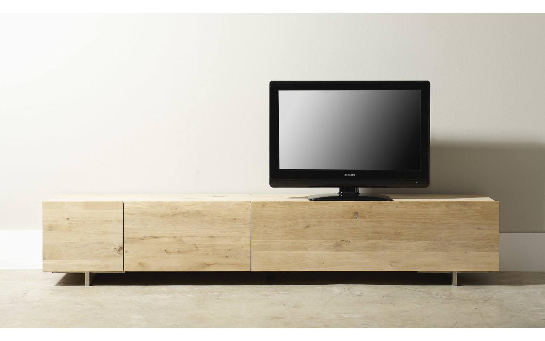 Lage Tv Kast : Eiken meubel kast tv meubel danvill wit eiken cm meubella