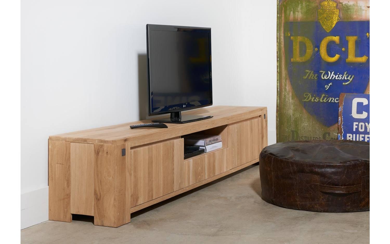 Eiken Tv Kast : Eiken tv meubel 250 cm 17 schilderij zwevend tv meubel eiken huis
