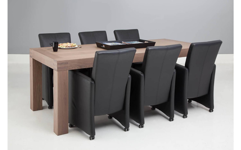 Stoel Wieltjes Kopen : Eettafel stoelen leer wieltjes leren eettafel stoelen amazing