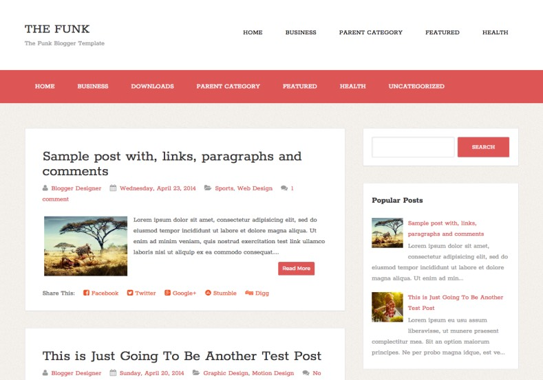 blogger templates for authors