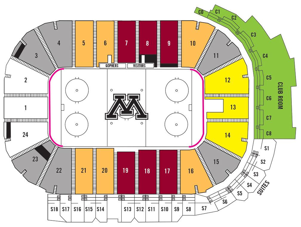 Seating Charts - University of Minnesota Athletics