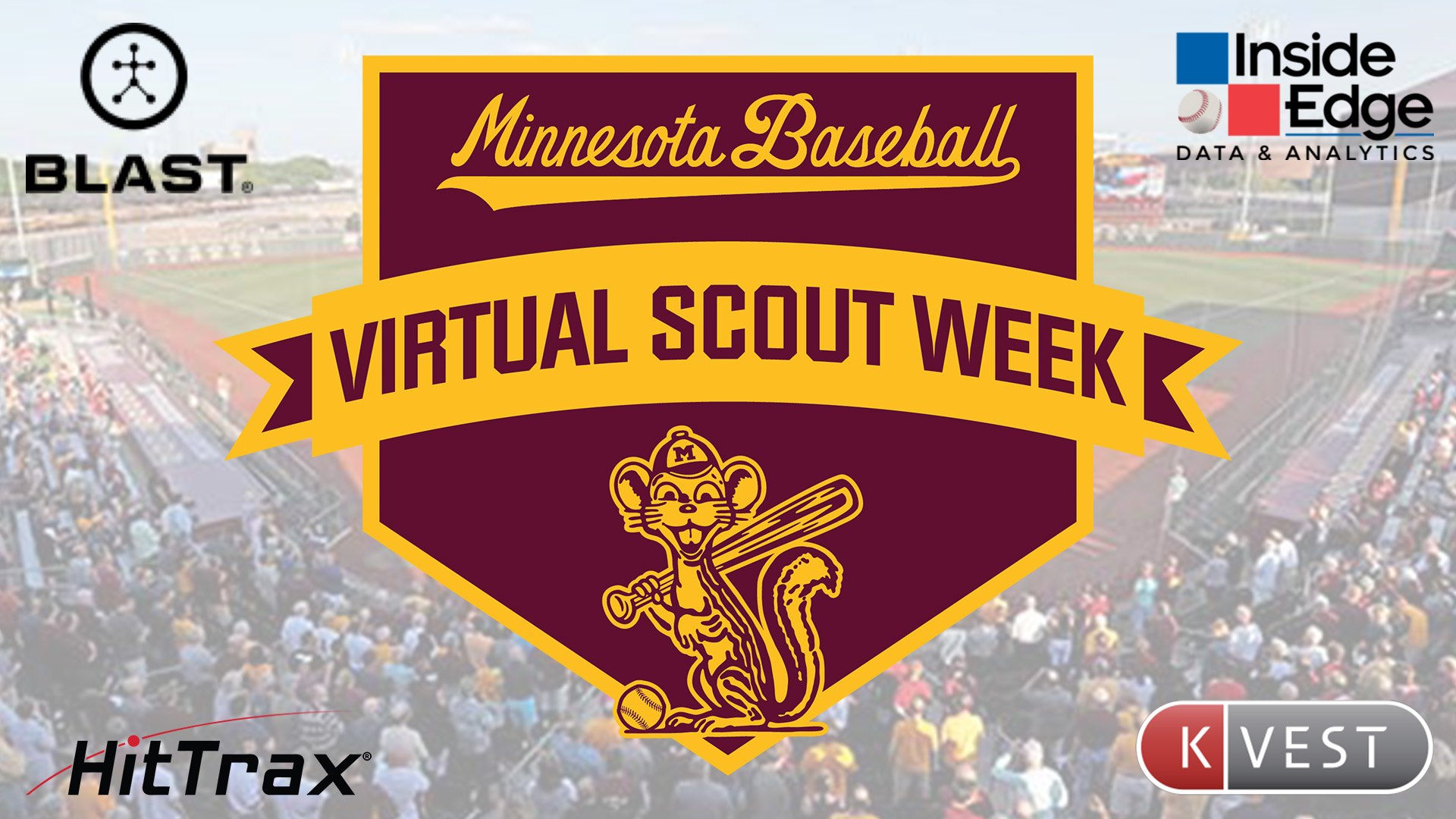 Gopher Baseball To Host Virtual Scout Week From Oct 19 24 University Of Minnesota Athletics