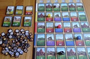 Dice city in play