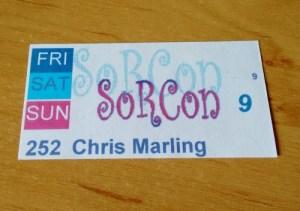 SorCon 16 badge