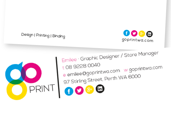 Go Print Design, Print  Bind