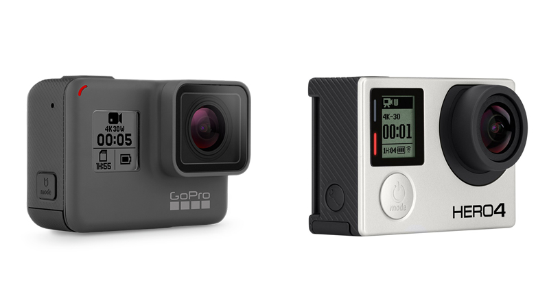 GoPro Hero5 vs Hero4 - Full comparison and Specifications