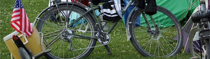 Katy Trail Gateway Off-Road Cyclists