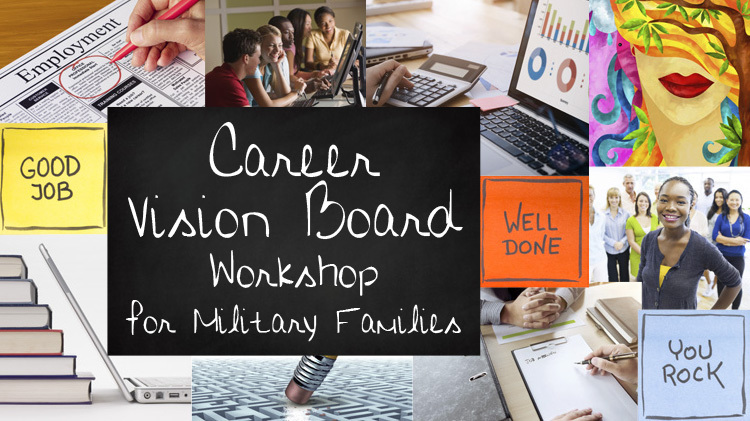 US Army MWR  View Event  Career Vision Board Workshop