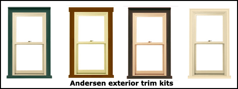 Remodeling with andersen exterior trim kits gordon harris