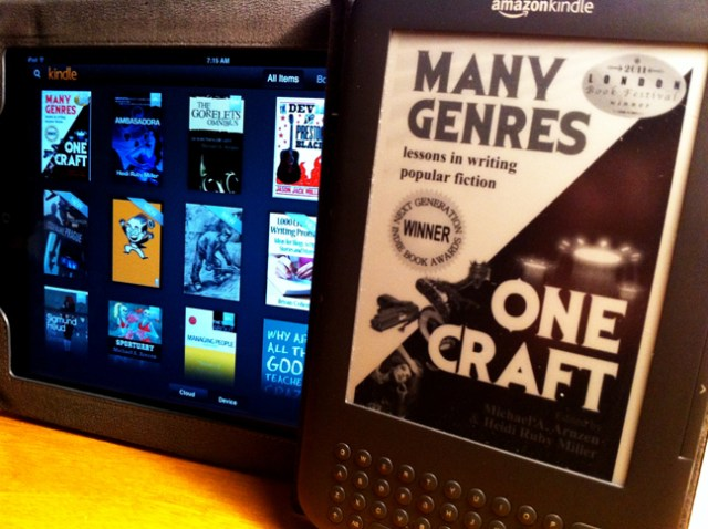 Many Genres ebook on Kindle and Nook