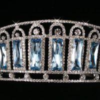 Tsarina Alexandra's Gorgeous Aquamarine and Diamond Kokoshnik Tiara