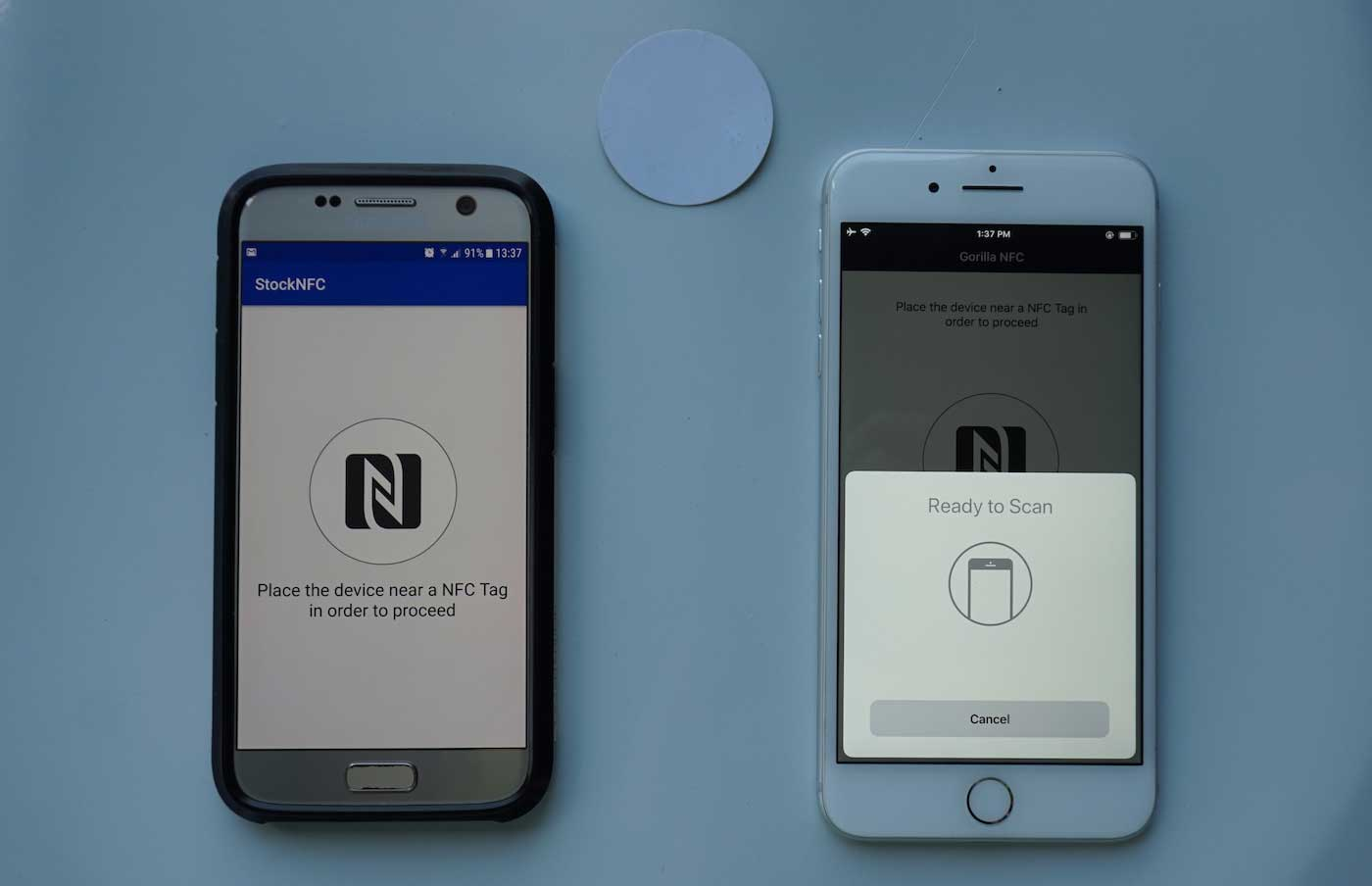 Nfc Tags Mobile Nfc A Practical Use Case Part I Gorilla Logic