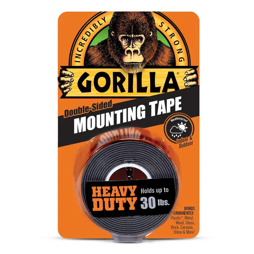 3m Vhb Tape Canada Gorilla Heavy Duty Mounting Tape Gorilla Glue Gorilla Glue