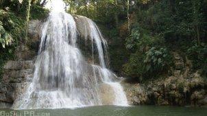 Gozalandia Lower Waterfall in San Sebastian PR 1