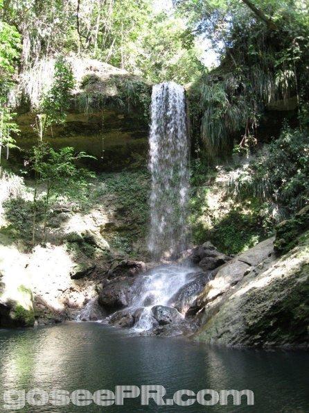 Gozalandia Upper Waterfall San Sebastian PR