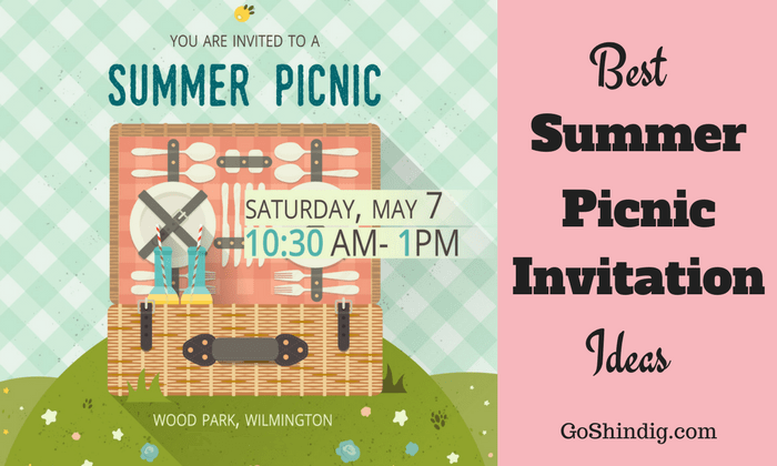 Office Picnic Invitation Email