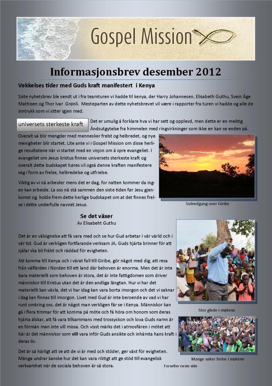 kontaktsbrev nr 4 - 2012 - side 1