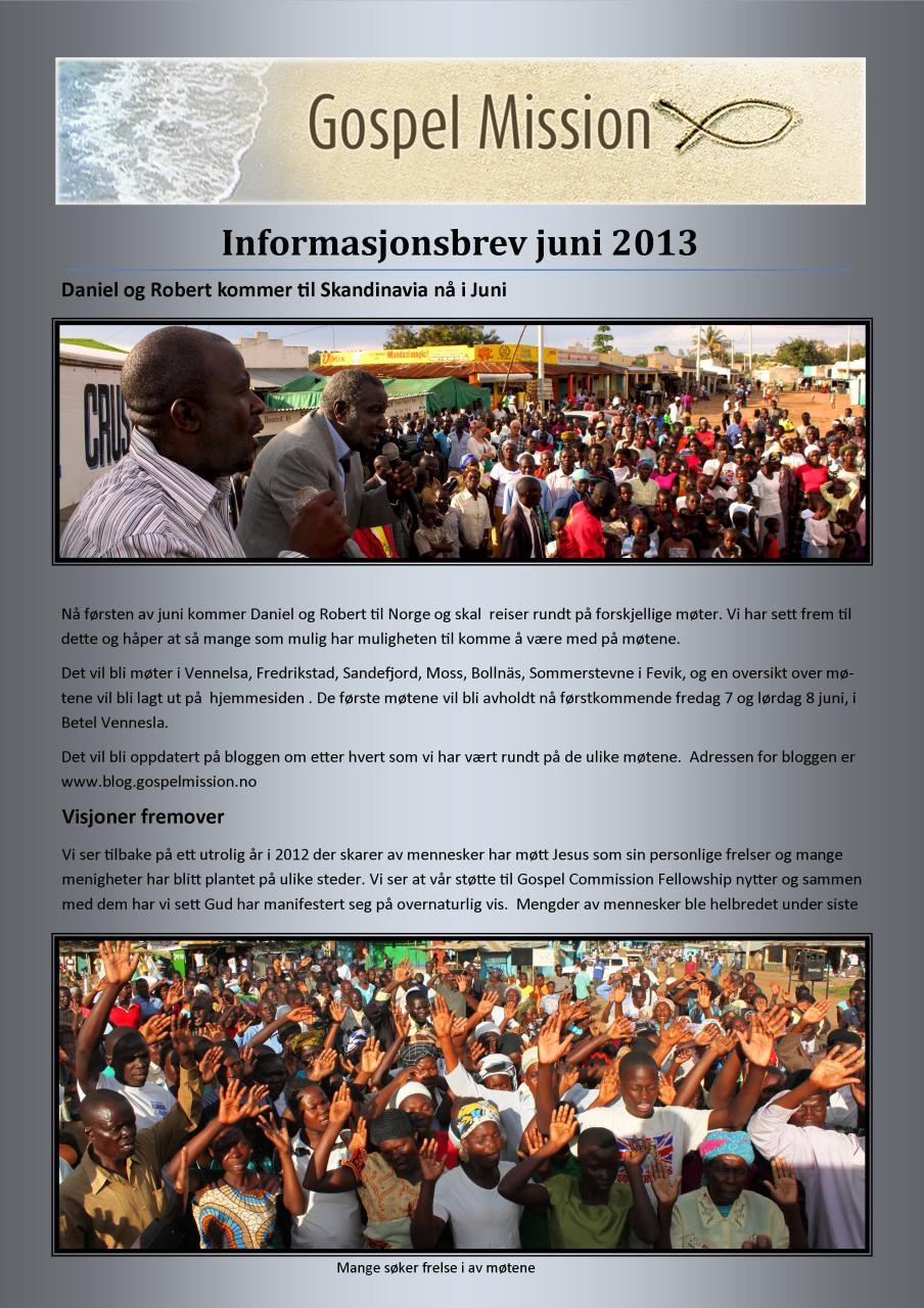 kontaktsbrev nr 1 - 2013- side 1