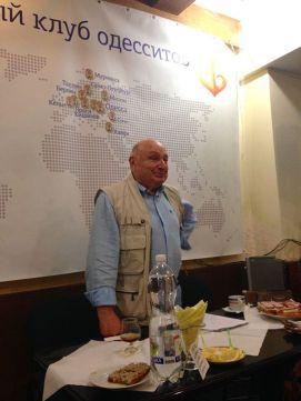 Михаил Жванецкий в Клубе Одесситов